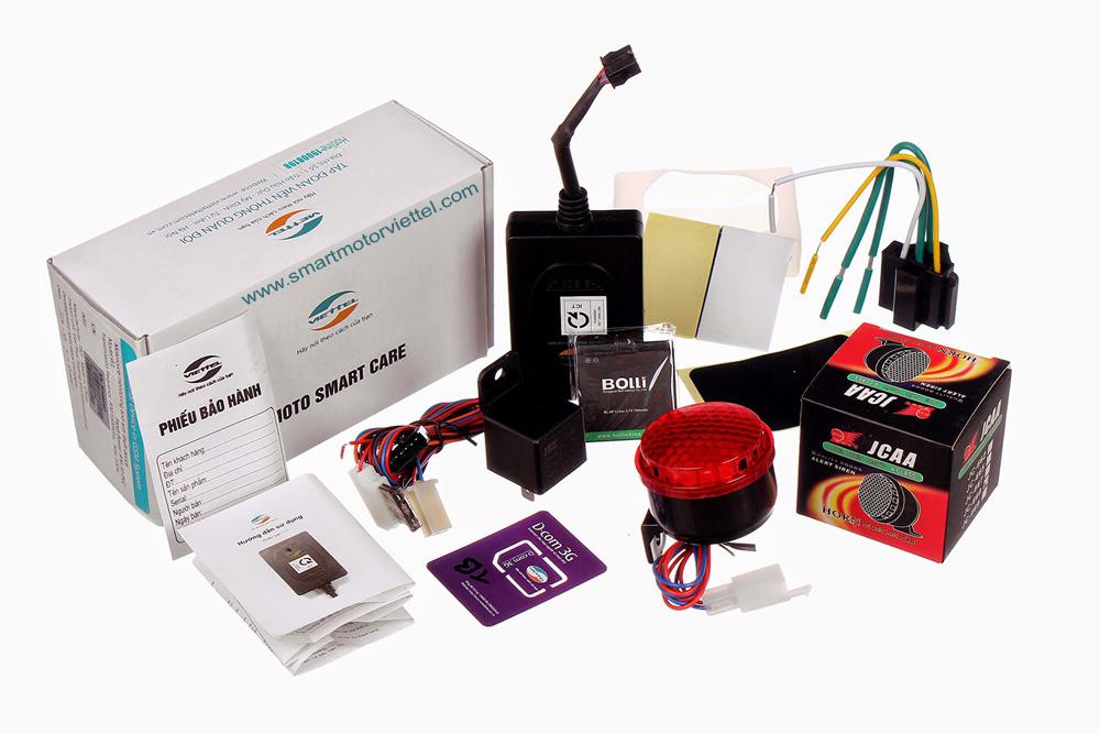 thiết bị định vị xe máy Smart Motor 3.0