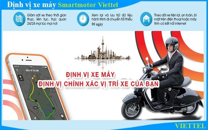 định vị xe máy viettel Solutions
