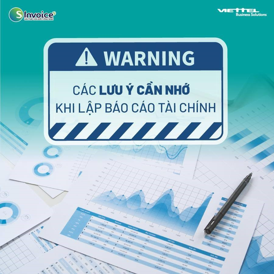 báo cáo tài chính doanh nghiệp cần lưu ý