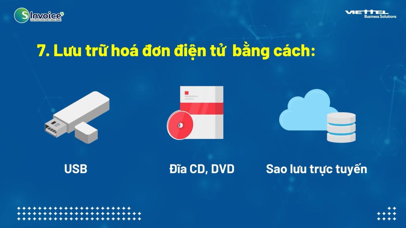 lưu trữ hóa đơn điện tử