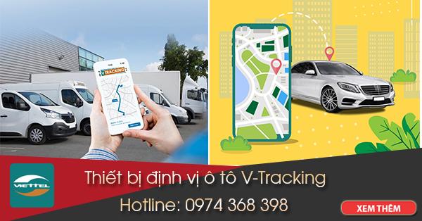 định vị xe ô tô V-Tracking