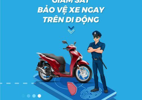 Thiết bị định vị xe máy smart motor viettel