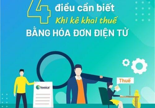 4 điều kế toán kê khai thuê bằng hóa đơn điện tử