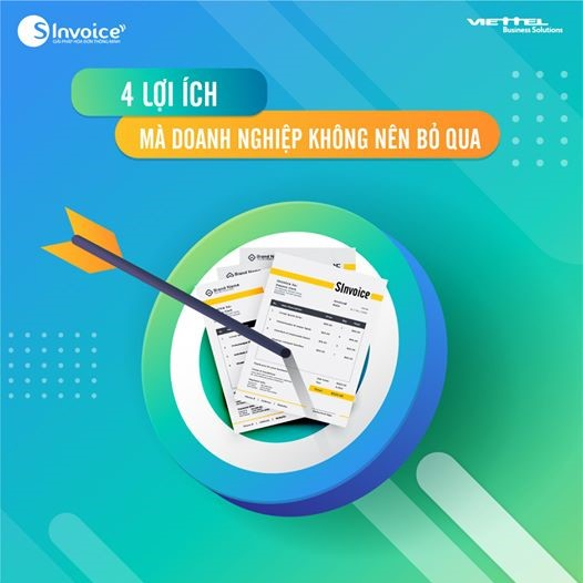 4 lợi ích từ hóa đơn điện tử viettel cho doanh nghiệp
